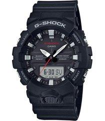 reloj g shock ga_800_1a negro resina