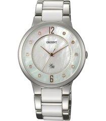 reloj casual bicolor orient