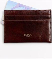 men's bosca old leather weekend wallet - brown
