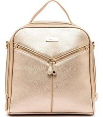 mochila  dorado  gacel