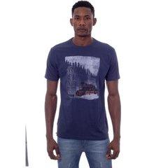 camiseta o'neill especial estampada explore and rest azul masculino - masculino