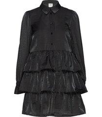 anya korte jurk zwart baum und pferdgarten