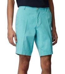 boss men's light pastel blue slice-shorts