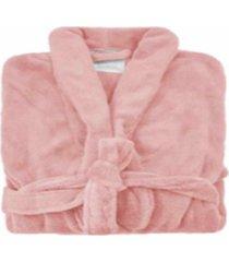roupã£o de banho microfibra soft camesa rosa - tamanhos - rosa - feminino - dafiti