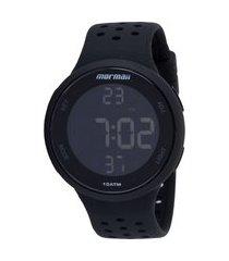 relógio digital mormaii mo7700a - unissex
