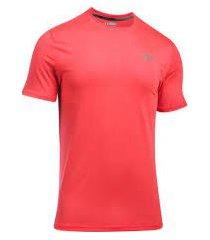 camiseta para hombre under armour-salmón