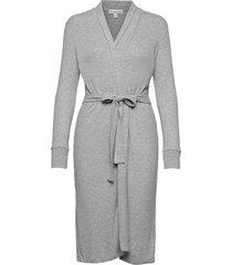 bath robe morgonrock grå pj salvage