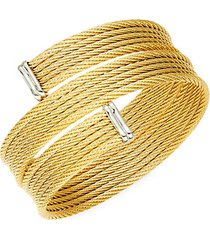 classique 18k yellow gold & stainless steel bracelet
