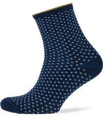 dina small dots lingerie hosiery socks blå becksöndergaard