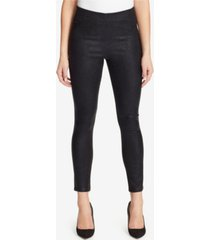 skinnygirl high rise pull on skinny ankle jeans