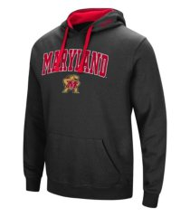 colosseum maryland terrapins men's arch logo hoodie