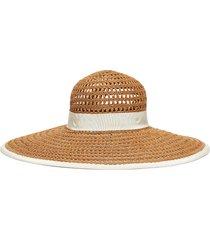 'sunny' straw hat