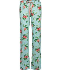 long pants pyjamasbyxor mjukisbyxor grön pj salvage