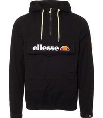 ellesse anthracite monte badge jacket shu03918