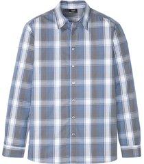 långärmad skjorta med bekväm skärning