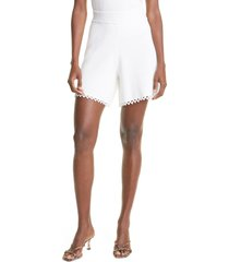 rebecca taylor crochet shorts, size large in full moon at nordstrom