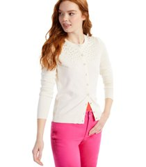 charter club petite beaded cardigan, created for macy's