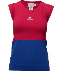 stella mccartney tee t-shirts & tops short-sleeved multi/patroon adidas tennis