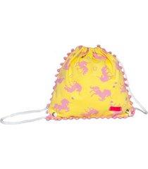 mochila infantil ania store maravilhoso unicórnio feminina