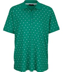 poloshirt m. collection groen::wit