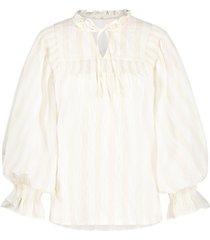 aaiko blouse carella stripe