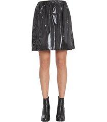 kenzo vinyl skirt