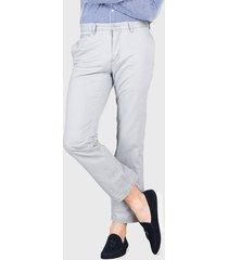 pantalón chino liso gris arrow