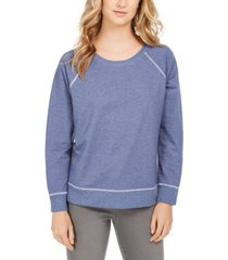 style & co petite sweatshirt, created for macy's
