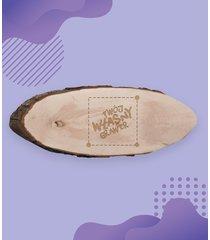 drewniana deska do krojenia z własnym nadrukiem