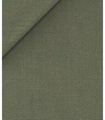 giacca da uomo su misura, solbiati, lino verde oliva, primavera estate | lanieri