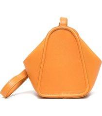 lemaire wrist strap purse - orange