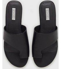 nly shoes toe loop flat sandal sandaler