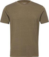 panos emporio bamboo/cotton tee crew t-shirts short-sleeved grön panos emporio