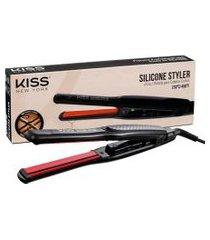 kiss new york silicone styler prancha - cabelos curtos