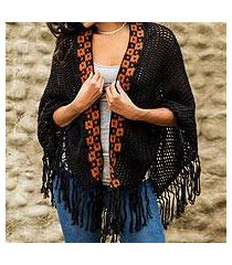 100% alpaca shawl, 'boheme' (peru)