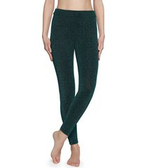 calzedonia glitter comfort leggings woman green size l