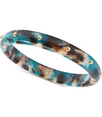 zenzii gold-tone acetate bangle bracelet