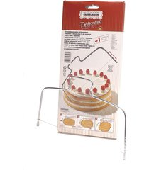 cortador de bolo zenker manual em aço inox – prata