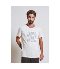 camiseta armadillo t-shirt waves box masculina