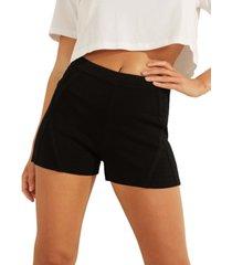 guess kamryn ottoman high-rise shorts