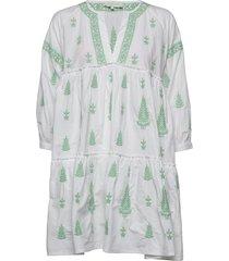 mimi dress kort klänning vit by malina