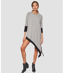 blusa gris prussia sprightly