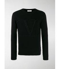valentino vlogo knitted sweater