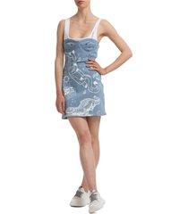 vestito abito donna corto miniabito manica corta element