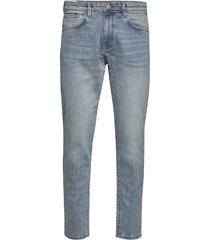 slhslimtape-toby 3020 lblu st jns w slimmade jeans blå selected homme