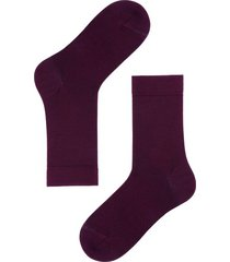 calzedonia short wool and cotton socks man burgundy size 40-41
