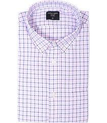 camisa manga corta color siete para hombre