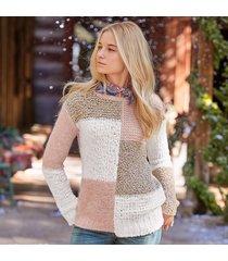 claudia colorblock pullover