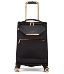 ted baker london 22-inch trolley packing case - black