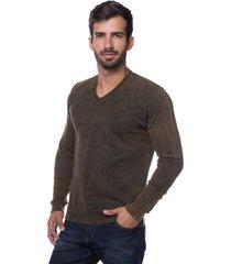 suéter basic le tisserand stoned marron